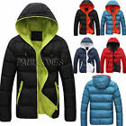 Collection For Young Men Korean New Winter Padded Jacket Down Coat Overcoat Tops