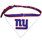 New York Giants NFL Licensed Bandana Dog Collar