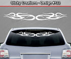 Design #122 Tribal Swirl Windshield Decal Rear Window Sticker Vinyl Graphic Car
