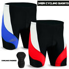 Mens Cycling Cycle Short Anti-Bac Coolmax Padded MTB Bicycle Pant Short S to XL