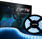 OPT7 16ft 5050 LED Strip with Connectors - Waterproof Automotive Underbody