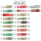 Christmas Washi Tape Decorative Paper Adhesive Masking Trim 15mm x 10m