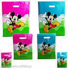 Mickey Mouse printed carrier bags double side printed strong gift bag for retail