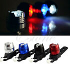 New Bike Bicycle Cycling Front Rear Tail Helmet Flash Light Safety Warning Lamp