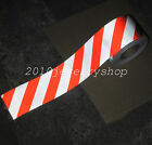 "Silver&Red Safety Reflective Tape Self-adhesive Stripe Warning Tape 10cm(4"")"