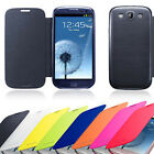 Ultra Slim Leather Flip Battery Back Case Cover For Samsung Galaxy S3 III i9300