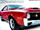 1970+AMC+AMX+PRINT+AD+%2Dposter%2Fpicture%2Fsign%2D360+V8+engine%2F290%2F390%2F1968%2D1969%2D1971