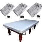 Fitted Heavy Duty Pool Snooker Billiard Table Cover- 7 8 9 ft / foot CHOOSE SIZE