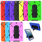 Shockproof Heavy Duty Hard Case Cover with Screen+Stand For Apple iPad Mini 2/3