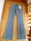 MADE IN HEAVEN MIH WASHED BLUE MARRAKESH MID RISE KICK FLARE JEANS EXTRA LONG