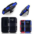 Armor Rugged Holster Hybrid Hard Clip Case Cover Stand For Huawei Vision 2 II