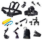 15in1 Accessory Bundles Set Kit Head Chest Strap + Battery GoPro Hero 4 3 Camera