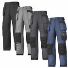 Snickers Cordura Trousers with Kneepad & Holster Pockets(4 Col/L-XL Leg)-3213A