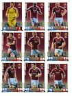 Match Attax 2014/15 Trading Cards (West Ham United-Base) 344-360