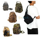 Tactical Chest Bag Outdoor Military Molle Utility Hiking Sport Shoulder Sling