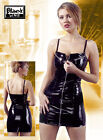 PVC Zip Minidress