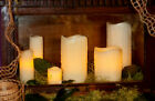 Flameless Ivory Honeycomb LED Candle with Remote Control