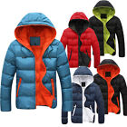 FREE SHIP FOR U Men's Winter Thicken Hoodies Outerwear Jacket Parka Hooded Coats