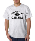 Unique State City Country T-shirt Property Of Canada
