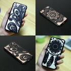 Henna Mandala Paisley Floral Case Cover for Iphone 6 6Plus Black White Pink Blue