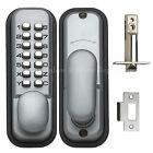 IR Briton 9160 Digital Push Button Door Lock Key Pad Code Combination Access