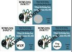 Bowling Party - Scratch Off Tickets - Birthday Party, FUN. 12 Tickets per Order.