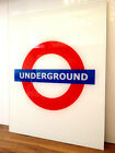 London Underground Glass Splashback, Made To Order In Any Size / Customise Text