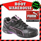 Puma Work Boots 642887  'Miss Safety  -  Stepper'.  Steel Toe Cap.  Rubber Sole