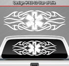 Design #165-02 STAR OF LIFE EMT EMS Back Window Decal Sticker Graphic Tribal Car