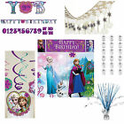 Disney Frozen Princess Olaf Birthday Party Decorations Banners Bunting Snowflake