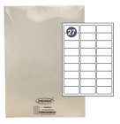 White Self Adhesive Blank A4 Printer Address Labels Amazon FBA Barcode Stickers