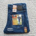 NWT Lee Men's Regular Fit Denim Jeans Straight Leg Classic 20089 All Sizes NEW