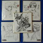 Autograph board Movie Limited - Attack on Titan Armin Jean Eren Mikasa Colossus