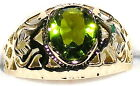 Men's Unique Peridot Ring ** August Birthstone ** 31512  Natural or Simulated