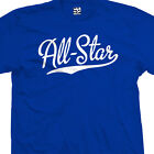 All-Star Script Tail T-Shirt - All Star Sports Team Jersey T - All Size & Colors image