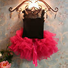 Hot Baby Girls Princess Dress Baby Kids Set Fashion Tutu Dress Skirt & Top 2Pcs