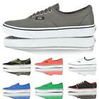 Mens Vans lo top authentic canvas era vulcanised boys  trainers shoes size