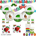 The Very Hungry Caterpillar Birthday Party Tableware, Plates, Cups, Napkins !!