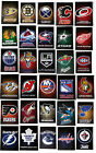 NHL Hockey Decal Sticker with Team Logos Licensed Choose from all 32 Teams