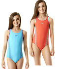 Speedo Girls Monogram Muscleback Swimsuit Childrens Swimming Costume