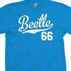 Beetle 66 Script Tail Shirt - 1966 Classic Volkswagen VW Bug - All Size & Colors