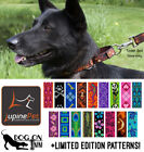 "Lupine Combo Dog Training Collar. Martingale, Limited Slip Choker.  M-XL 1"" wide"