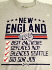 "PATRIOTS SB CHAMPS....""DID OUR JOB""....DYNASTY CHECKLIST TEE !!!"