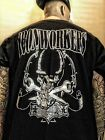 Union Ironworkers T shirt black Small medium large XL XXL XXXL skull Wrenches