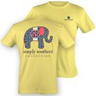 NEW Hot Gift Simply Southern Preppy Elephant Logo Sweet Girlie Bright T Shirt