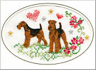 Airedale Terrier Birthday Card by Dogmania