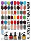 BLUESKY NAIL POLISH CLASSIC RANGE UV/LED SOAK OFF GEL 80546-80596 10ML P+P 805