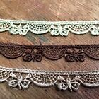 """BUTTERFLY Petite 3/8"""" VENISE SCALLOP LACE TRIM 1yd Made in France Dolls CHILD"""