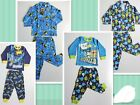 BNWT Batman Octonauts Boys Winter Flannelet Cotton Pyjamas Tee+Pants