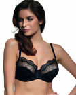 Brand New Panache Elsa Balconette Bra 6691 Black Various Sizes
